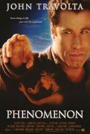 Phenomenon (film) - Theatrical release poster