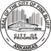 Official seal of Pine Bluff, Arkansas