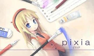Pixia - Image: Pixia`s new mascot