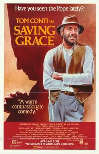 Saving Grace (1986 film) - Theatrical release poster