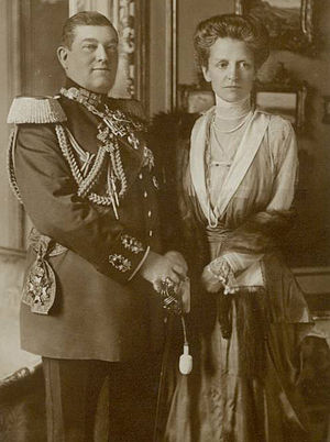 William, Prince of Hohenzollern - Prince William and Princess Adelgunde of Bavaria
