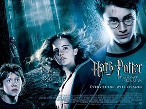 Harry Potter and the Prisoner of Azkaban (film) - Theatrical release poster