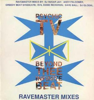 Beyond Thee Infinite Beat - Image: Psychic TV Beyond Thee Infinite Beat Album Cover