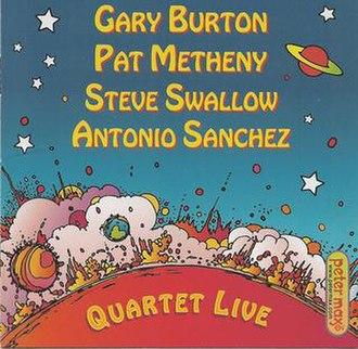 Quartet Live - Image: Quartet Live cover