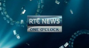 RTÉ News: One O'Clock - On-screen logo 2009
