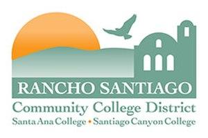 Rancho Santiago Community College District - Image: Rancho Santiago Community College District logo