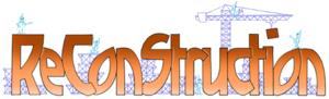 ReConStruction - Image: Re Con Struction web logo