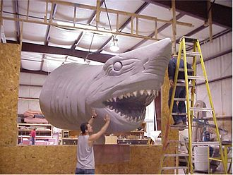 Ripley's Believe It or Not! - Ripley's shark being produced