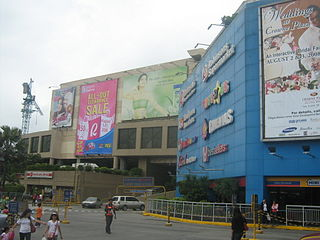 Robinsons Galleria Shopping mall in Quezon City, Philippines