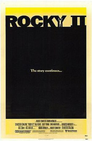 Rocky II - Theatrical release poster