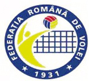 Romania men's national volleyball team - Image: Romanian Volleyball Federation logo