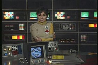 Space: 1999 - Message From Moonbase Alpha (premiered 13 September 1999), starring Zienia Merton as Sandra Benes.