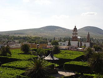 Salvatierra, Guanajuato - View of the Tetilla hills