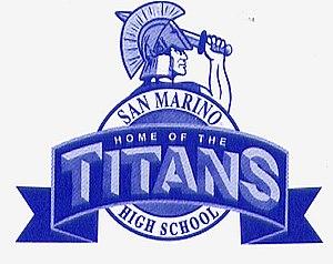 San Marino High School - Image: San Marino High School, San Marino, California (logo)