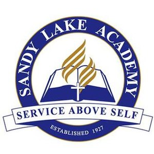Sandy Lake Academy - Image: Sandy Lake Academy school logo