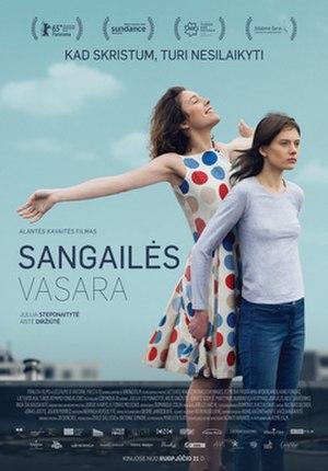 The Summer of Sangailė - Film poster