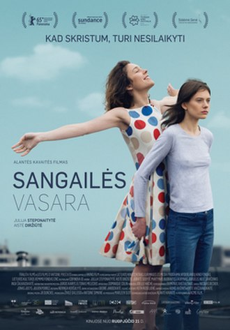 The Summer of Sangailė - Film poster