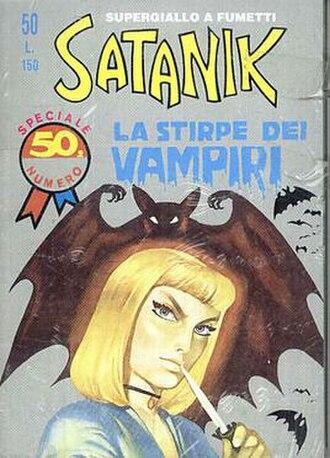 Satanik - Image: Satanik Issue 50
