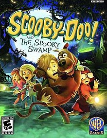 jogo scooby-doo and the spooky swamp - ps2