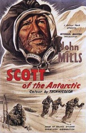 Scott of the Antarctic (film) - Original cinema poster