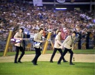 The Beatles at Shea Stadium - Image: Shea 1