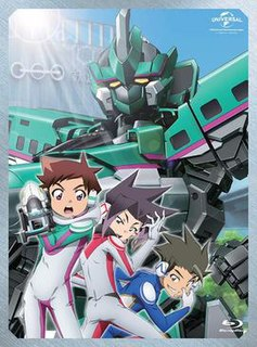 <i>Shinkansen Henkei Robo Shinkalion</i> Anime television series
