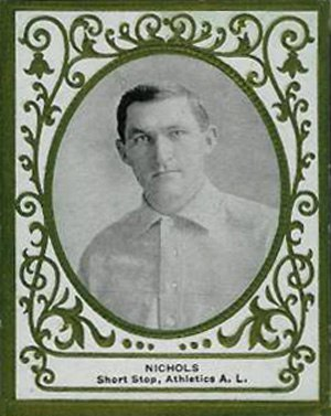 Simon Nicholls (baseball) - Image: Simon Nicholls Card