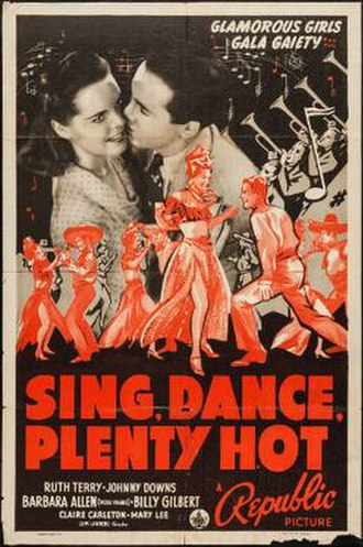 Sing, Dance, Plenty Hot - Theatrical release poster