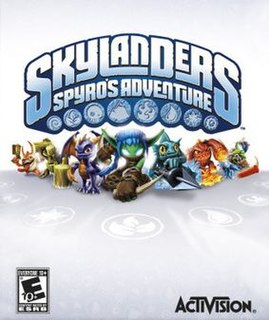 <i>Skylanders: Spyros Adventure</i> 2011 video game