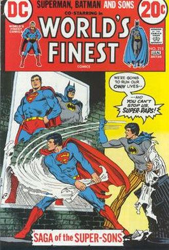 Super-Sons - Image: Superman JR HCV
