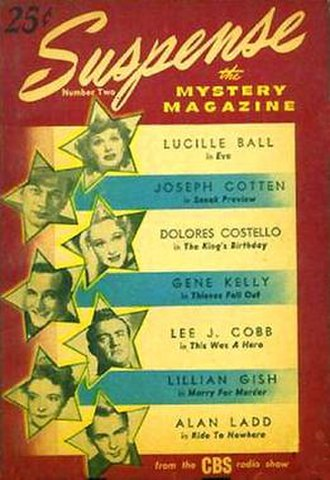 Suspense (radio drama) - Second issue of the 1946 magazine tie-in