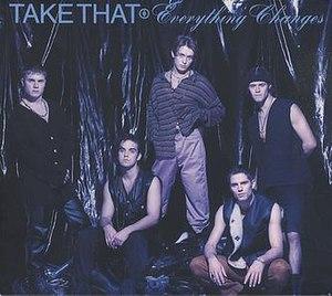 Everything Changes (Take That album) - Image: Take that everything changes japanese album