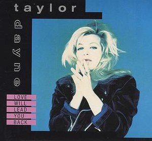 Love Will Lead You Back - Image: Taylor Dayne – Love Will Lead You Back (single cover)