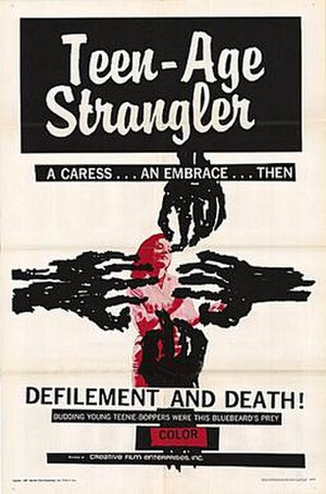 Teen-Age Strangler - Theatrical release poster