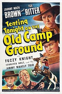 <i>Tenting Tonight on the Old Camp Ground</i> 1943 film directed by Lewis D. Collins