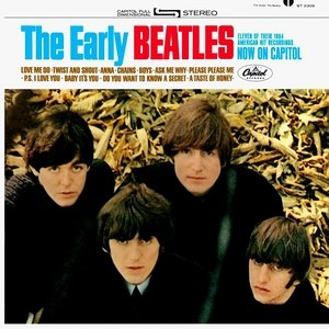 The Early Beatles - Image: The Early Beatlesalbumcover
