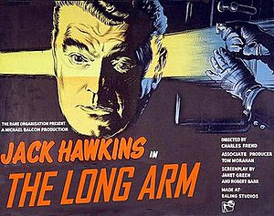 The Long Arm (film) - British film poster