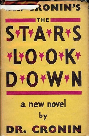 The Stars Look Down - First UK edition