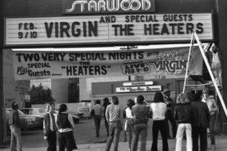 Starwood (nightclub) - The Starwood entrance in early 1979.