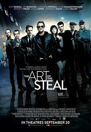 The Art of the Steal (2013 film) - Image: The Art of the Steal poster