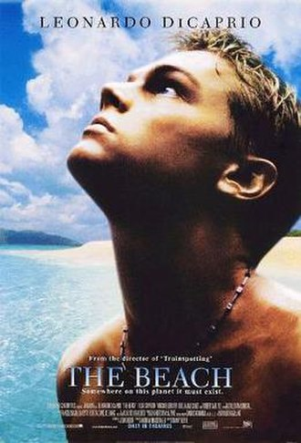 The Beach (film) - Theatrical release poster