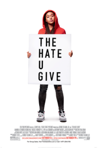 Picture of a movie: The Hate U Give