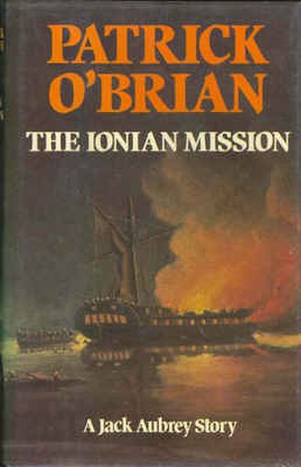 The Ionian Mission - First edition cover