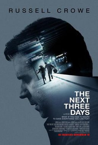 The Next Three Days - Theatrical release poster