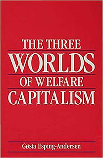 <i>The Three Worlds of Welfare Capitalism</i> book by Gøsta Esping-Andersen