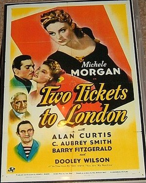 Two Tickets to London - Theatrical poster