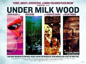 Under Milk Wood (2015 film) - Image: Under Milk Wood.2015.theatrical poster