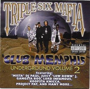 Underground Vol. 2: Club Memphis - Image: Undergroundvol 2