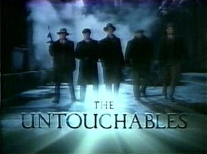 The Untouchables (1993 TV series) - Image: Untouchables 1993 title