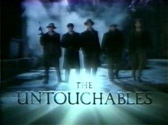 The Untouchables (1993 TV series) - Image: Untouchables 1993 title